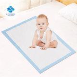 OEM de Zachte Absorberende Mat Van uitstekende kwaliteit van de Stootkussens van het Bed van de Zorg van de Baby van het Sap van het Gel Veranderende