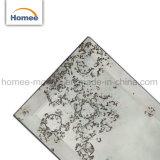 Klassische Glasuntergrundbahn-Fliese-Antike-Silber-Mosaik-Glasspiegel-Fliesen für Wände