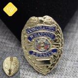 カスタマイズされた専門亜鉛合金の軍隊の安全警察のバッジ