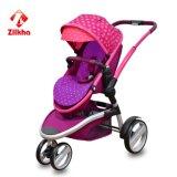Carro de bebê com frame e assento regular