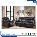 Dubai-Gewebe-Samt-Leder-Chesterfield-Sofa-gesetzte Entwurfs-Wohnzimmer-Möbel