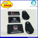 Tag Epoxy do costume RFID NFC Ntag213 216 Keychains