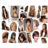 Parrucca sintetica fatta a macchina dei capelli umani di Omber dei capelli