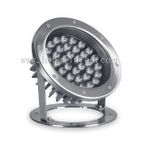 Il raggruppamento di IP68 12W il RGB LED illumina l'indicatore luminoso subacqueo del LED