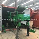 Tipo caliente trituradora machacada roca movible de la máquina, trituradora de quijada machacante de piedra simple de la planta