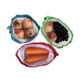 재사용할 수 있는 빨 수 있는 과일 야채 장난감 메시 생성 Eco 친절한 부대