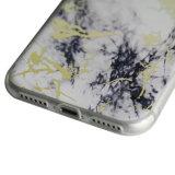 Tampa pintada TPU de mármore da pedra da imagem para o escudo do telefone móvel de Oppo R11