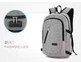 Водонепроницаемая бизнес для защиты от краж рюкзак с зарядкой через USB