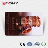 Superfície mate MIFARE (R) 4K Cartão de papel de RFID para pagamento de bilhete