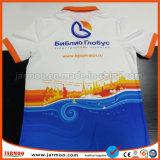 관례 자유로운 디자인 둥근 목 간결 소매 t-셔츠