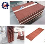 Larga vida útil de madera metal recubierto de piedra Teja