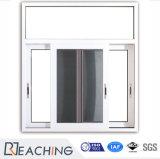 Ökonomische Art-preiswerte Preis-weiße Farbe Anti-UVkurbelgehäuse-belüftung, das Aluminiumfenster schiebt