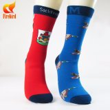 Kundenspezifische Socken-Fertigung-Mann-Socken-lustige Kleid-Socke