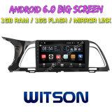 """Witson 9 """" Grote Androïde 6.0 Auto van het Scherm DVD voor KIA K4 2014"""