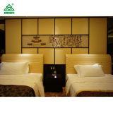 装飾される革が付いている快適なシングル・ベッドの木の寝室の家具