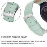 Het beste Verkopen op Riem van de Armband van het Leer van de Koe van Amazonië de Zachte voor de Band van het Toestel van Samsung S2