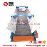 prensa de filtro hidráulica de membrana de 1250m m para la recuperación de las aguas residuales
