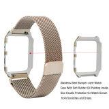 Cinghia milanese della maglia del ciclo con il blocco per grafici del metallo per il cinturino del Apple