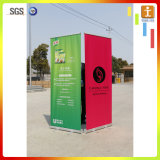 Top Grade tirez Banner Stand avec alliage en aluminium Waterdrop Socle
