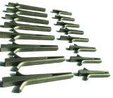 Séparateur de la main de béton et les cales/bouchons de filtres en coin et de plumes