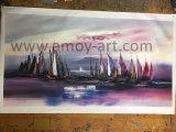 Het met de hand gemaakte Noordse Art. van het Olieverfschilderij van het Landschap van de Stijl Wilkinson Abstracte