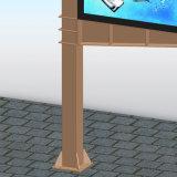 Хайвей рекламируя напольную конструкцию структуры афиши цифров