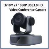 USB3.0 HD 1080P/30 12X Zoom de la cámara de video conferencia PTZ Network