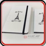 Debossed Thermo PU Cor da capa para notebook de Borda