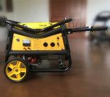 Portátil de 2kw con alambre de cobre del generador de gasolina V tipo bastidor y las dos ruedas
