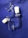 Baiboの正方形の水晶ガラスの煙る管の蒸発器の乾燥したハーブ
