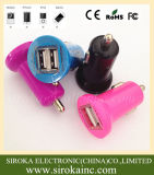 5V3.1A conjuguent chargeur de véhicule d'USB pour le téléphone mobile