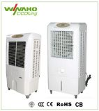 Atelier&Accueil à l'intérieur du refroidisseur d'évaporation mobile Desert Air