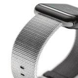 Cinturino di vigilanza di nylon tessuto del braccialetto della fascia del ciclo di sport per la vigilanza del Apple