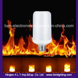 G9 светодиодный светильник пламени пожара ламп G4 E27 поток факультативного