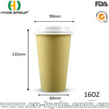 12 унций одноразовые бамбуковые волокна бумаги чашки кофе