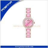 女性の水晶スイスの品質の陶磁器の腕時計のファッション・ウォッチ