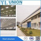 Baldacchino prefabbricato della tettoia del magazzino della struttura d'acciaio