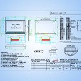 Het radertje 128X64 stippelt de Module van de Vertoning LCM LCD voor Industrieel Controlemechanisme
