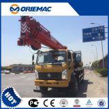 Sany 트럭 기중기 12ton Stc120c 이동 크레인 트럭 픽업 기중기