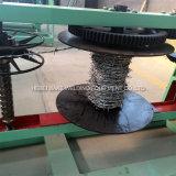二重繊維の熱いすくいの電流を通された有刺鉄線機械