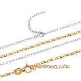 """925 Sterling Silver """" O """" collier de la chaîne Longth personnalisé"""