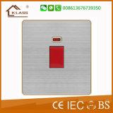 Interruptor de pared de Fábrica de Venta caliente 45A