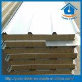 """Panneaux """"sandwich"""" isolés de toit/mur de laines de roche pour les constructions en acier"""