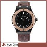 人のための熱い販売のステンレス鋼の防水手首の水晶腕時計