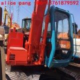 Excavatrice utilisée de Hitachi Ex120 avec 0.5m3bucket pour l'excavatrice d'exploitation de passerelle de construction