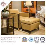 Mobilia cinese dell'hotel con la mobilia di legno della camera da letto impostata (F-3-2)