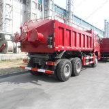 건축 또는 채광 기계장치 336HP Sinotruk HOWO 6X4 30t 덤프 또는 팁 주는 사람 트럭