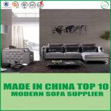Strato di cuoio sezionale del sofà del salone moderno americano