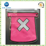 Saco impresso da pena do Zipper do PVC (JP-plastic028)