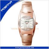 Het elegante Staal van het Wolfram Dame Watches met Beweging de Van uitstekende kwaliteit van het Kwarts